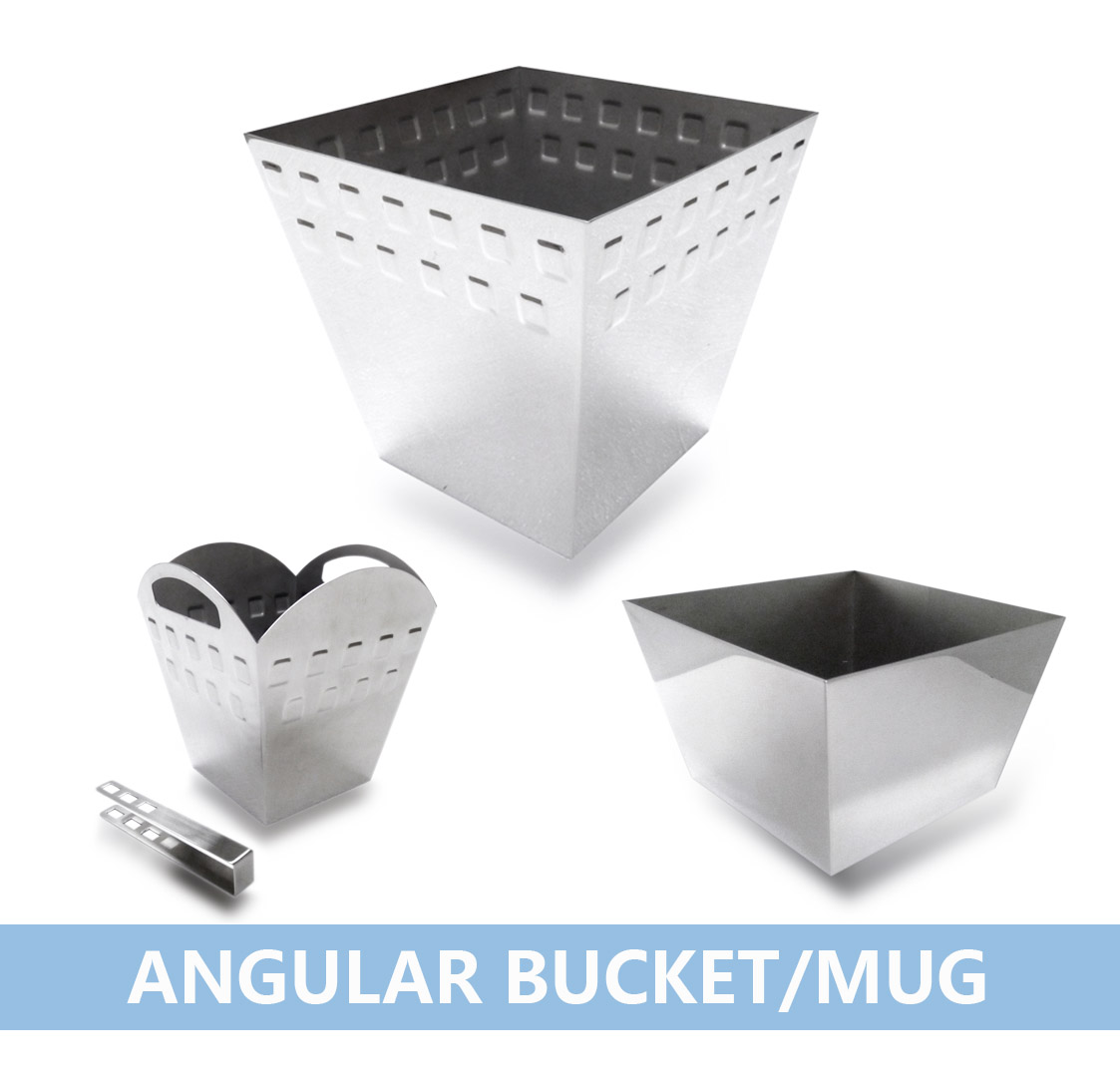 方角形桶及碗 Angular Bucket  Mug